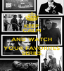 KEEP CALM AND WATCH YOUR FAVORITES SERIES - Personalised Poster A4 size