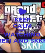 KEEP CALM AND WATCHING REZI AND SKKF - Personalised Poster A4 size