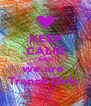 KEEP CALM AND we are  Trance Girls  - Personalised Poster A4 size