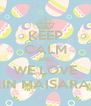KEEP CALM AND WE LOVE AIN MAISARAH - Personalised Poster A4 size