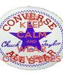 KEEP CALM AND WEAR CONVERSES - Personalised Poster A4 size
