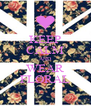 KEEP CALM AND WEAR FLORAL - Personalised Poster A4 size