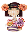 KEEP CALM AND WEAR FLOWERS - Personalised Poster A4 size