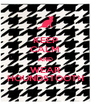 KEEP CALM AND WEAR HOUNDSTOOTH - Personalised Poster A4 size