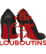 KEEP CALM AND WEAR LOUBOUTINS - Personalised Poster A4 size