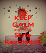 KEEP CALM and WEAR Style Revolution - Personalised Poster A4 size
