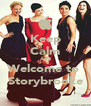 Keep Calm And Welcome to  Storybrooke - Personalised Poster A4 size