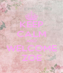 KEEP CALM AND WELCOME ZOE - Personalised Poster A4 size