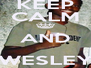 KEEP CALM AND WESLEY LUIZ - Personalised Poster A4 size