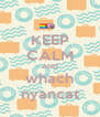 KEEP CALM AND whach nyancat - Personalised Poster A4 size