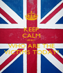 KEEP CALM AND: WHO ARE THE VICTIMS TODAY? - Personalised Poster A4 size