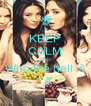 KEEP CALM AND Who the hell is - A - Personalised Poster A4 size