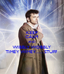 KEEP CALM AND WIBBLY WOBBLY TIMEY WIMEY......STUFF - Personalised Poster A4 size