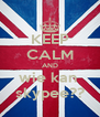 KEEP CALM AND wie kan  skypee?? - Personalised Poster A4 size