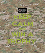 KEEP CALM AND WIN A TROPHY  - Personalised Poster A4 size
