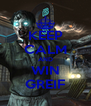 KEEP CALM AND WIN GREIF - Personalised Poster A4 size