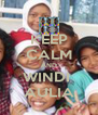 KEEP CALM AND WINDI  AULIA - Personalised Poster A4 size