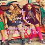 KEEP CALM AND WINGS ARE  MADE TO FLY - Personalised Poster A4 size