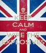 KEEP CALM AND WIRE THE EXPLOSIVES - Personalised Poster A4 size