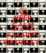 KEEP CALM AND wish ANAS A HAPPY BIRTHDAY! - Personalised Poster A4 size