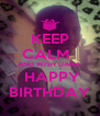 KEEP CALM   AND WISH DANA  HAPPY BIRTHDAY - Personalised Poster A4 size