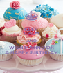 KEEP CALM AND WISH MAHNOOR A HAPPY BIRTHDAY - Personalised Poster A4 size