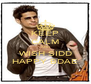 KEEP CALM AND WISH SIDD HAPPY BDAE - Personalised Poster A4 size