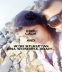 KEEP CALM AND WISH SITUKUTTAN ONA WONDRFUL BDAEY... - Personalised Poster A4 size