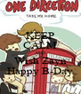 KEEP CALM AND Wish Zayn Happy B-Day - Personalised Poster A4 size