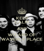 KEEP CALM AND WIZARD OF WAVERLY PLACE - Personalised Poster A4 size