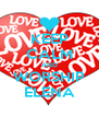 KEEP CALM AND WORSHIP ELENA - Personalised Poster A4 size