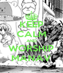 KEEP CALM AND WORSHIP MANAV - Personalised Poster A4 size
