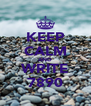 KEEP CALM AND WRITE 7890 - Personalised Poster A4 size