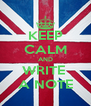 KEEP CALM AND WRITE  A NOTE - Personalised Poster A4 size