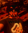 KEEP CALM AND Wróć  - Personalised Poster A4 size