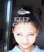 KEEP CALM AND WTCH ME - Personalised Poster A4 size