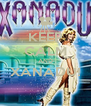KEEP CALM AND XANADU!  - Personalised Poster A4 size