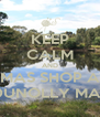 KEEP CALM AND XMAS SHOP AT THE DUNOLLY MARKET - Personalised Poster A4 size