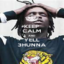 KEEP CALM AND YELL 3HUNNA - Personalised Poster A4 size