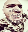 KEEP CALM AND YIKES  - Personalised Poster A4 size