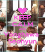 KEEP CALM AND Yonghawa  Seohyun - Personalised Poster A4 size