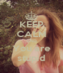 KEEP CALM AND You are stupid - Personalised Poster A4 size
