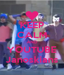 KEEP CALM AND YOUTUBE Janoskians - Personalised Poster A4 size