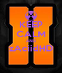KEEP CALM AND zAciidHD  - Personalised Poster A4 size