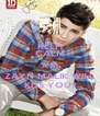 KEEP CALM AND ZAYN MALIK WILL KISS YOU!! - Personalised Poster A4 size