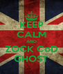 KEEP CALM AND ZOCK CoD GHOST - Personalised Poster A4 size