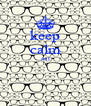 keep calm ant   - Personalised Poster A4 size