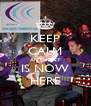 KEEP CALM ANTHONY IS NOW HERE - Personalised Poster A4 size