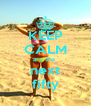 KEEP CALM are the  next fifty - Personalised Poster A4 size