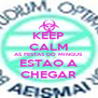 KEEP CALM AS FESTAS DO MINGUS ESTAO A CHEGAR - Personalised Poster A4 size
